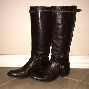 FRYE Tall Boots size 8.5B